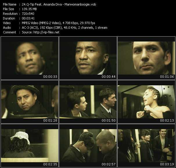 Q-Tip Feat. Amanda Diva music video Publish2