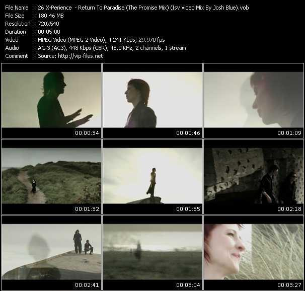 X-Perience music video Publish2