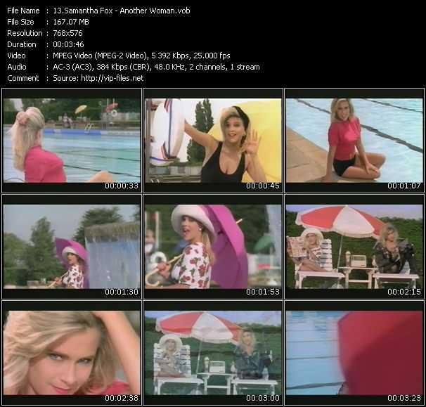 Samantha Fox video - Another Woman