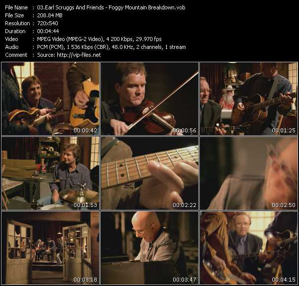 Earl Scruggs And Friends music video Publish2
