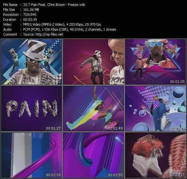 T-Pain Feat. Chris Brown music video Publish2