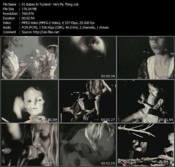 Babes In Toyland video - He's My Thing