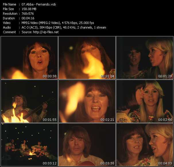 Abba video - Fernando