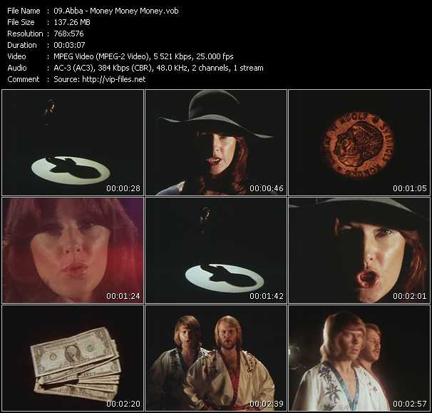 Abba video - Money, Money, Money