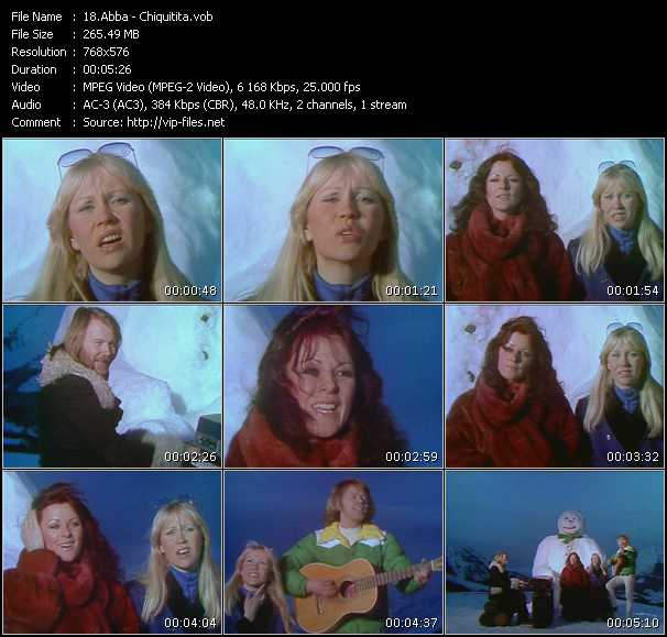 Abba video - Chiquitita