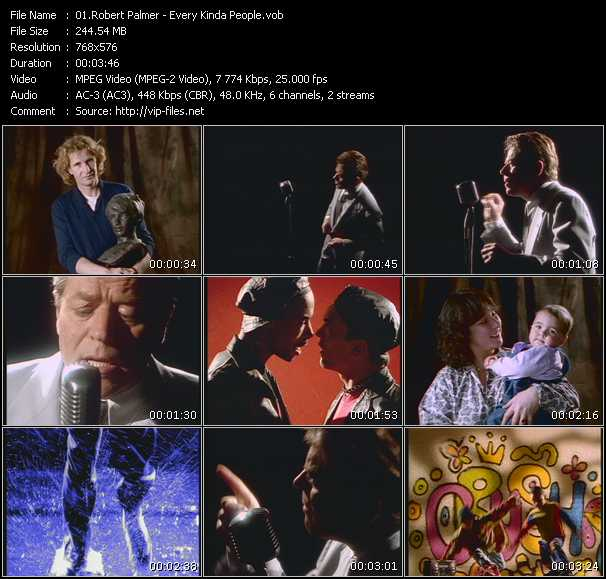 Robert Palmer video - Every Kinda People