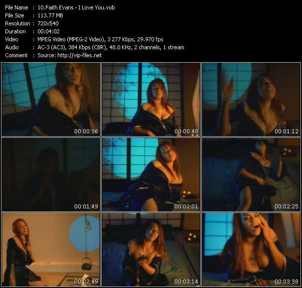 Faith Evans music video Publish2