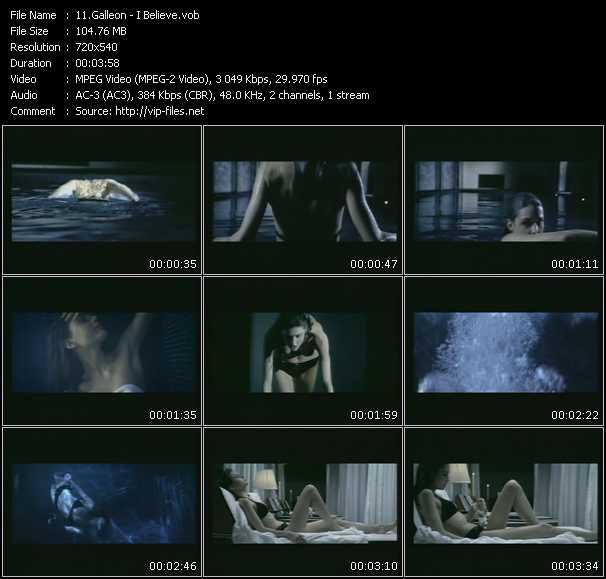 Galleon video - I Believe