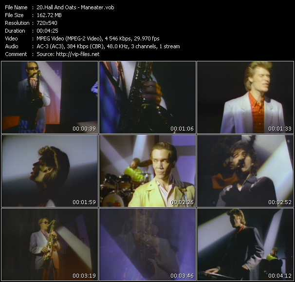 Hall And Oates (Daryl Hall And John Oates) video - Maneater