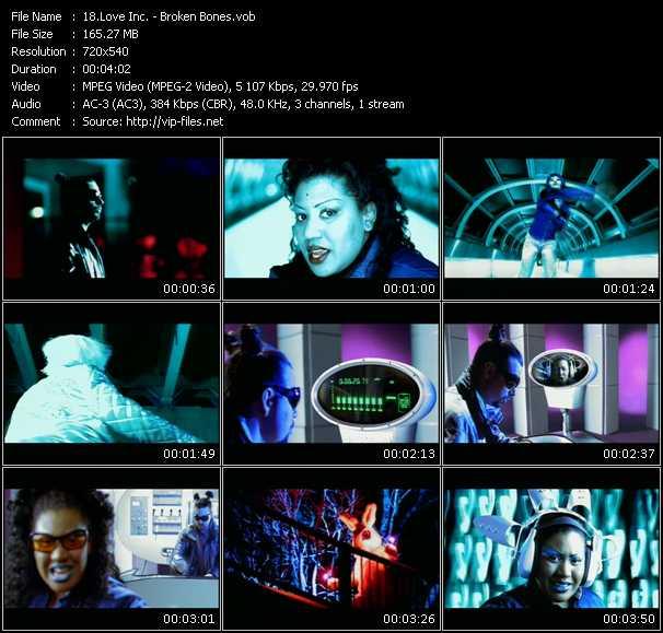 Love Inc. video - Broken Bones