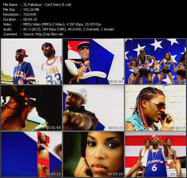 Fabolous video - Can't Deny It