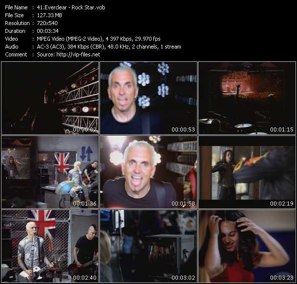 Everclear video - Rock Star