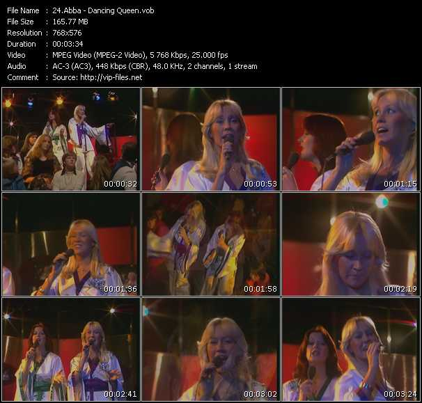 Abba video - Dancing Queen (Kultnacht)