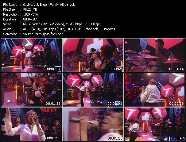 Mary J. Blige video - Family Affair (Live From Later With Jools Holland)