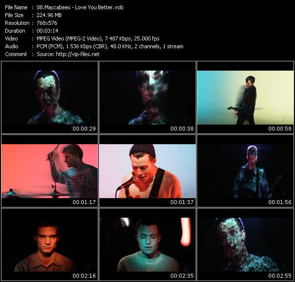 Maccabees video - Love You Better