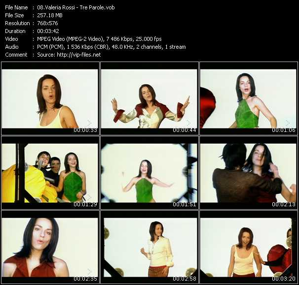 Valeria Rossi music video Publish2
