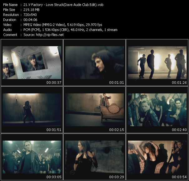 V Factory music video Publish2
