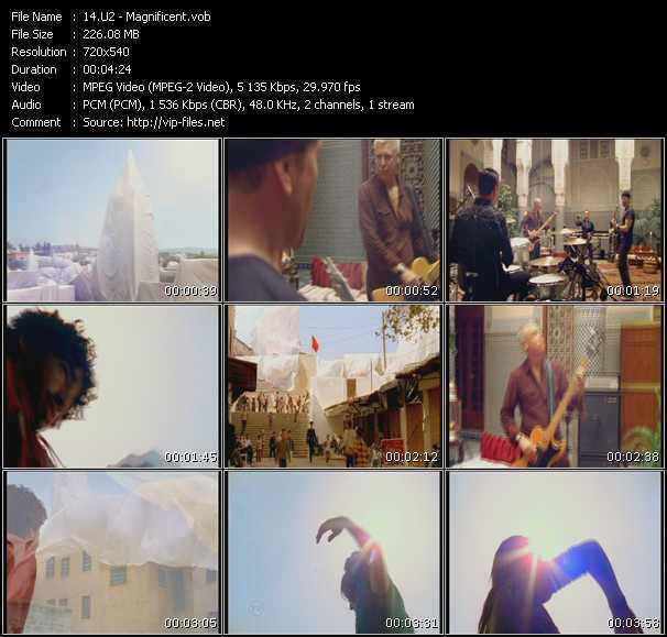 U2 video - Magnificent