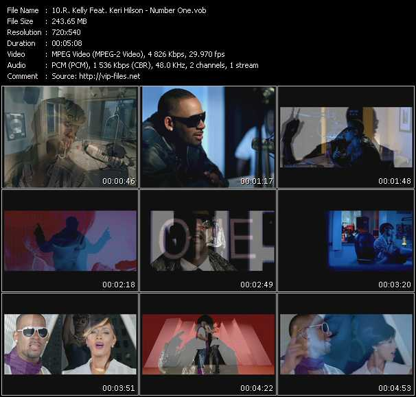 R. Kelly Feat. Keri Hilson video - Number One