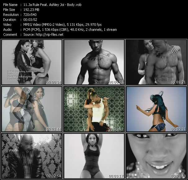 Ja Rule Feat. Ashley Joi video - Body