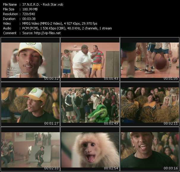 N.E.R.D. video - Rock Star