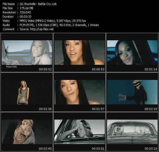 Shontelle video - Battle Cry