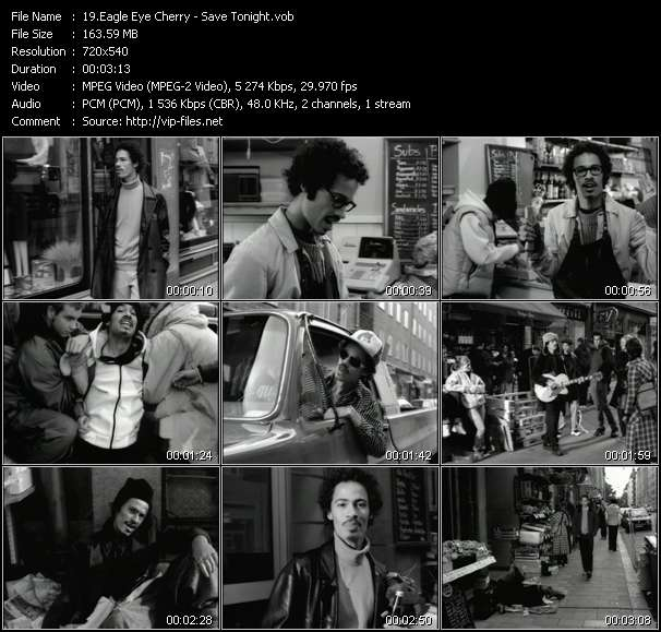 Eagle Eye Cherry video - Save Tonight