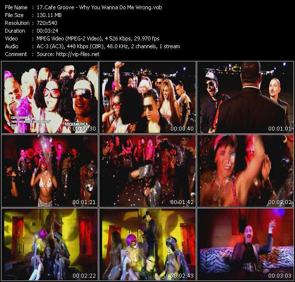 Cafe Groove music video Publish2