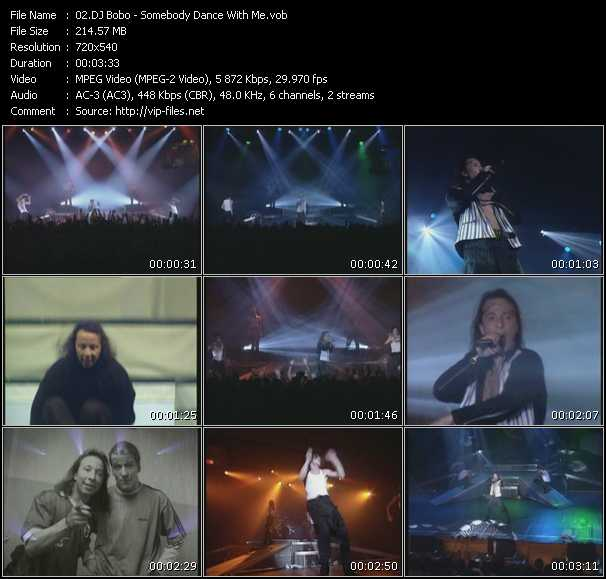 Dj Bobo video - Somebody Dance With Me