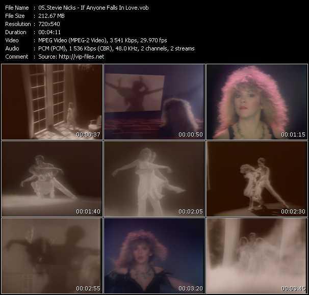 Stevie Nicks video - If Anyone Falls In Love