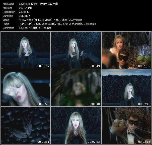 Stevie Nicks video - Every Day