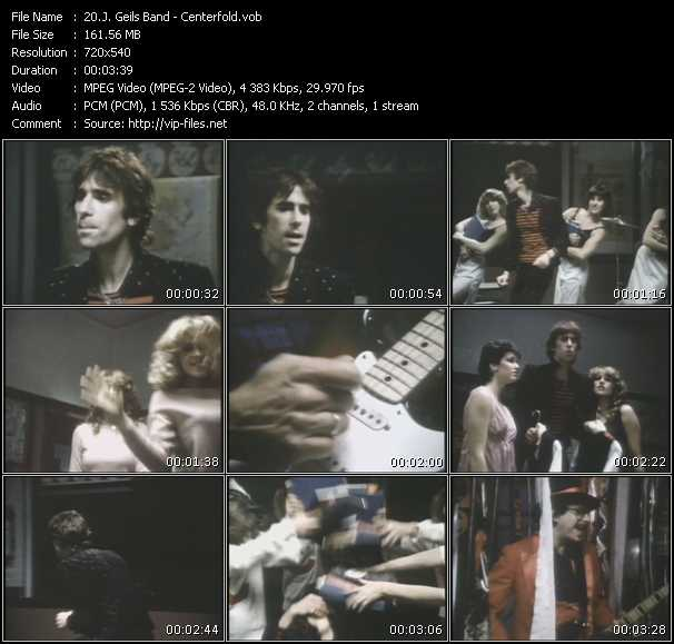 J. Geils Band video - Centerfold
