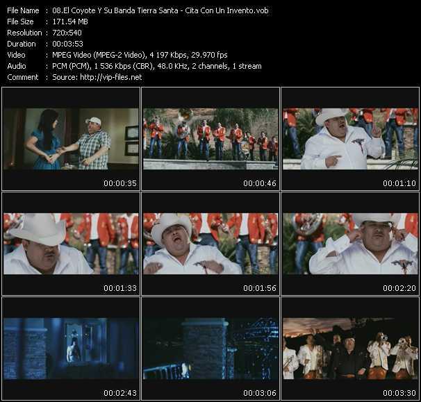 El Coyote Y Su Banda Tierra Santa video - Cita Con Un Invento