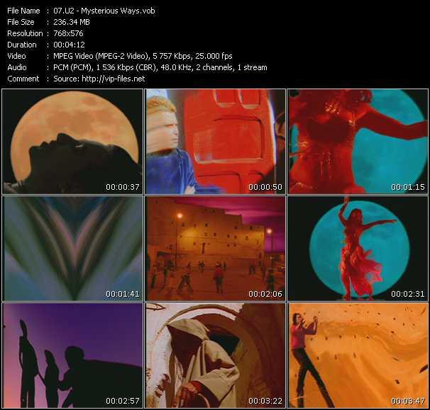 U2 video - Mysterious Ways