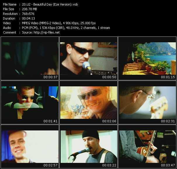 U2 video - Beautiful Day (Eze Version)