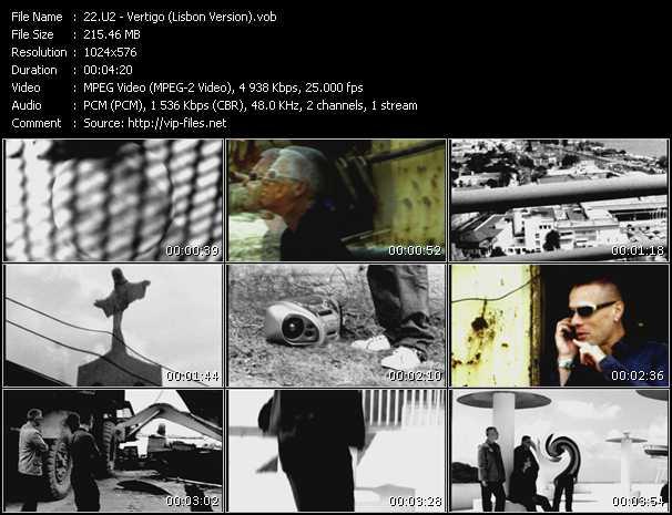 U2 video - Vertigo (Lisbon Version)