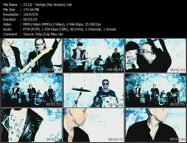 U2 video - Vertigo (HQ Version)