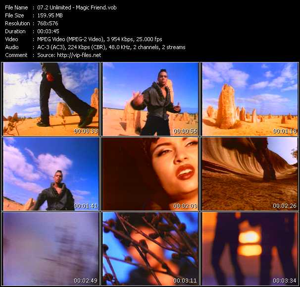 2 Unlimited video - Magic Friend