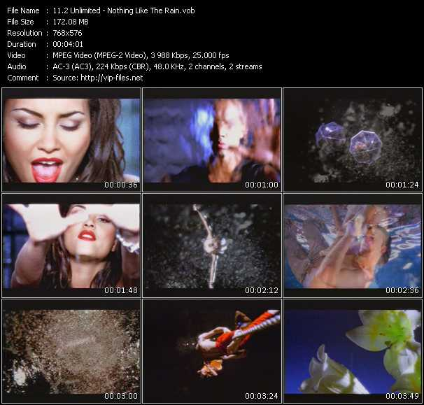 2 Unlimited video - Nothing Like The Rain