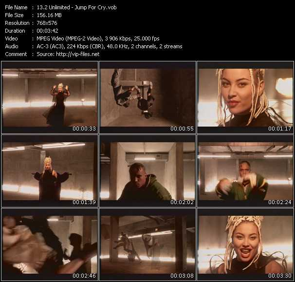 2 Unlimited video - Jump For Cry