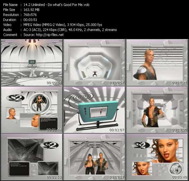 2 Unlimited video - Do What's Good For Me