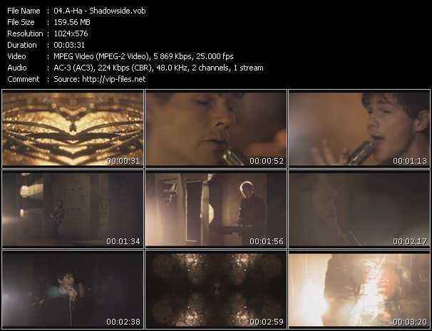 A-Ha video - Shadowside