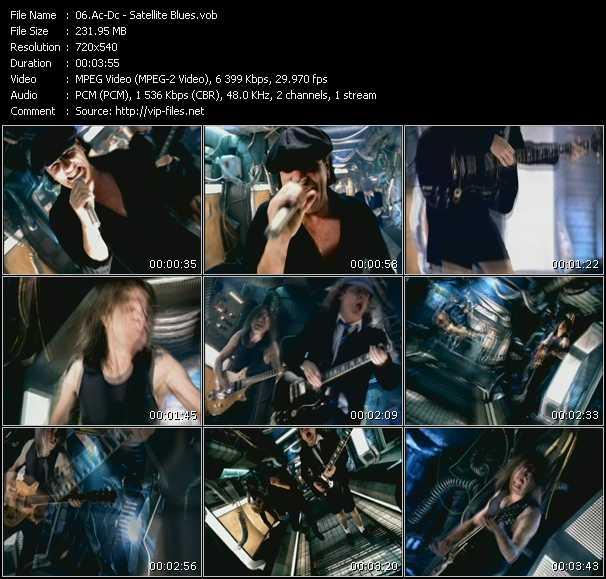 Ac-Dc video - Satellite Blues