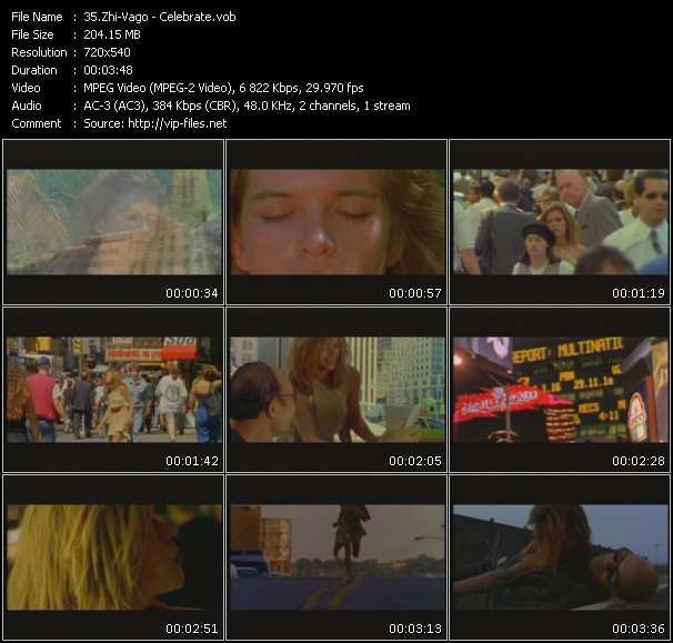Zhi-Vago video - Celebrate