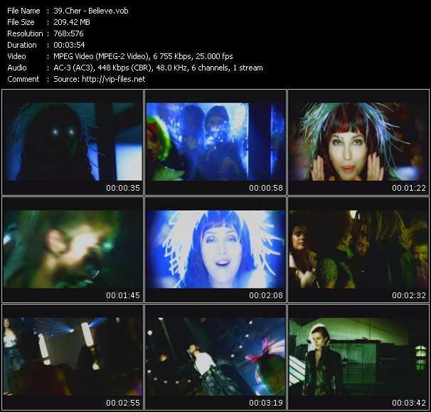 Cher video - Believe