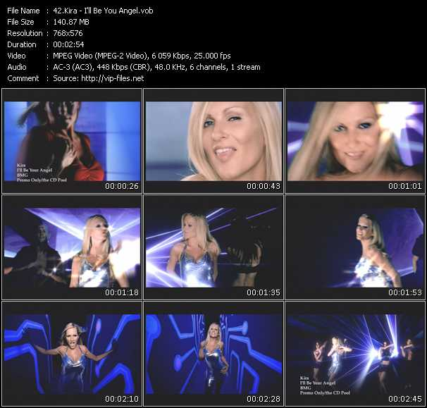 Kira video - I'll Be You Angel