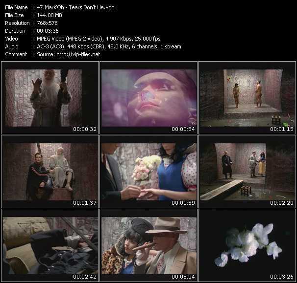 Mark 'Oh video - Tears Don't Lie