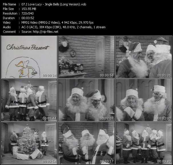 I Love Lucy video - Jingle Bells (Long Version)