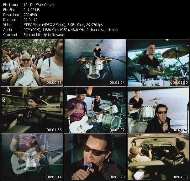U2 video - Walk On