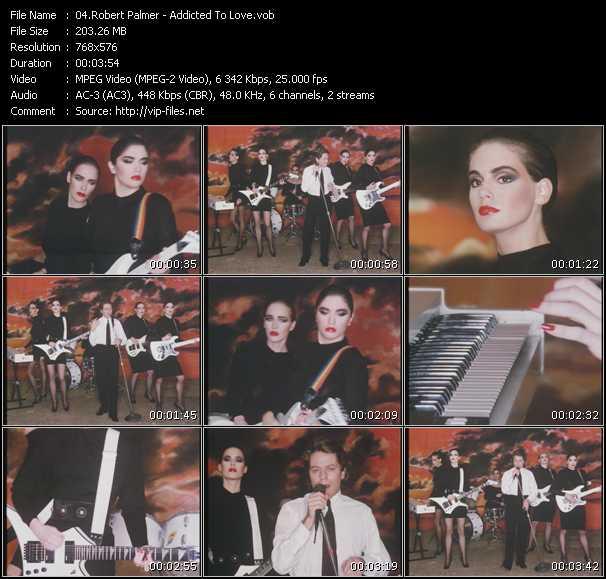 Robert Palmer video - Addicted To Love